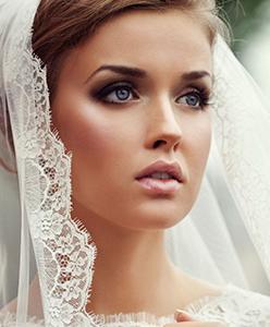 الأسود والزهري! اخر صيحات مكياج عروس 2015