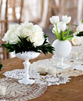 ألوان زهور الزفاف تكشف شخصية العروس
